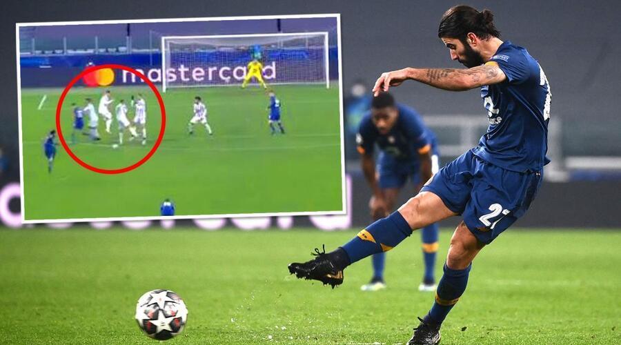 Sergio Oliveira's stunning freekick that heaped all the blame on Ronaldo