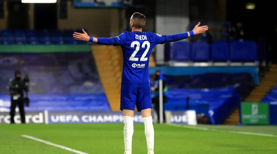 Ziyech bagged the first goal for the blues in the 63rd mins.