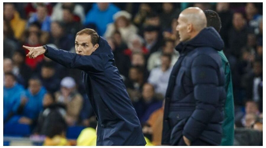 Zidane is also among the list of defeated managers that fell by Tuchels tactics.